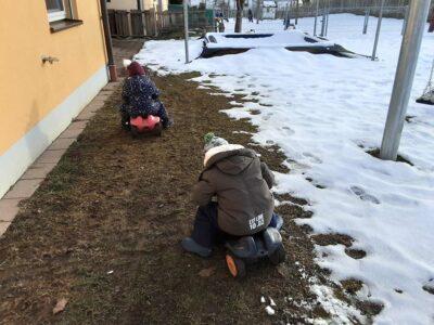 Krippenkinder mobil unterwegs