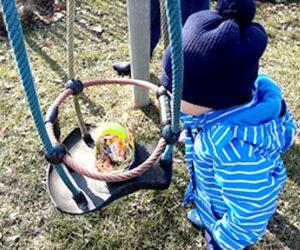 Osternsuche im Egglkofener Kinderland
